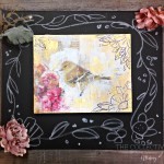 Mixed media nature canvas $39