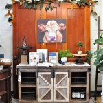 Vignette at the retail store The Collective lhe + Makery in Lisle, IL