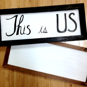 Farmhouse Sign The Collective lhe + Makery DIY