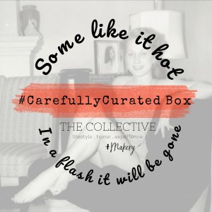 Some Like It Hot #Carefullycurated box by The Collective lhe +Makery