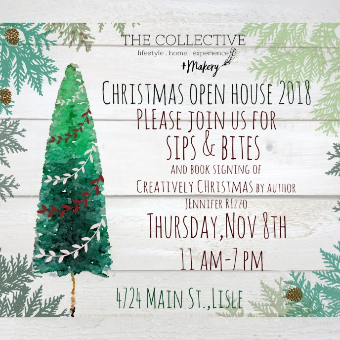 Christmas open house 2018 The Collective lhe + Makery