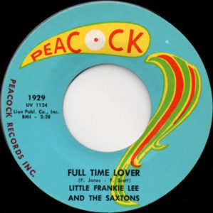 Little Frankie Lee And The Saxtons