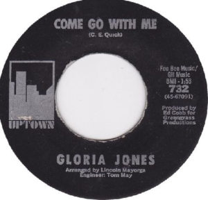 Gloria Jones  Come Go With Me / How Do You Tell An Angel