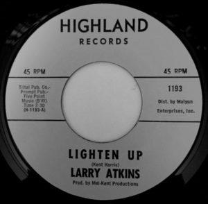 Larry Atkins – Ain't That Love Enough