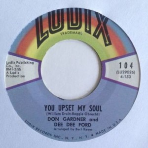 Don Gardner And Dee Dee Ford ‎– Son My Son / You Upset My Soul
