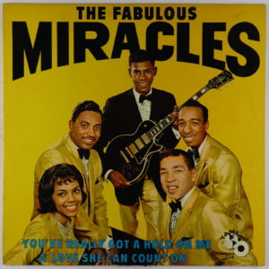 Fabulous Miracles You've Really Got A Hold On Me (RARE !)