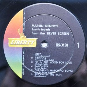 Martin Denny Exotic Sounds From The Silver Scree