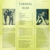 TARHEEL SLIM-Too Much Competition