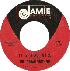 The Jordan Brothers ‎– It's You Girl-Dream Romance