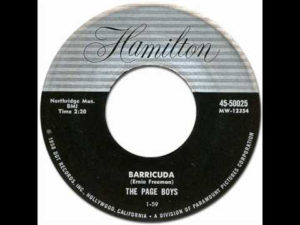 The Page Boys – Barricuda