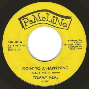 Tommy Neal – Goin' To A Happening  Tee Ta  Original  -U.S