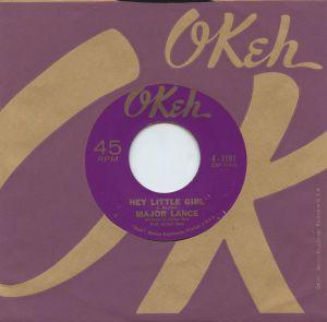"""Major Lance-""""Hey Little Girl""""OKeh Records"""