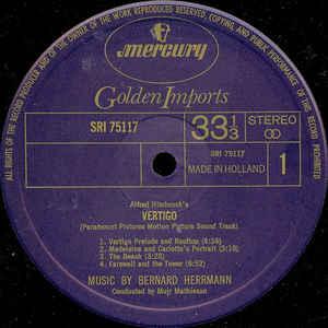 "Bernard Hermann- Bernard Hermann's Music From Alfred Hitchcock's ""Vertigo"""
