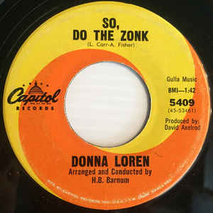 Donna Loren- New Love-OUT OF STOCK