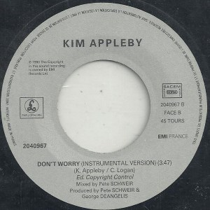 Kim Appleby- Don't Worry