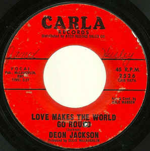 Deon Jackson- Love Makes The World Go Round/ You Said You Loved Me