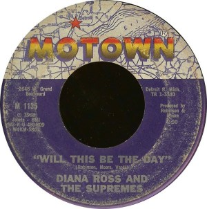 Diana Ross & The Supremes- Love Child/ Will This Be The Day
