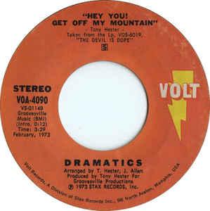 Dramatics-The Devil is Dope