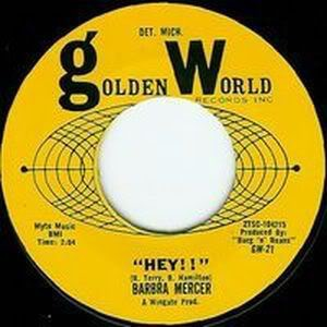"Barbra Mercer – ""Hey!!"" / Can't Stop Loving You Baby"