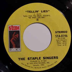 The Staple Singers- Touch A Hand, Make A Friend/ Tellin'Lies