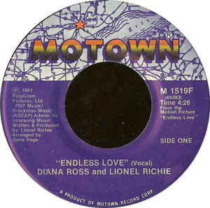 Diana Ross & Lionel Richie- Endless Love