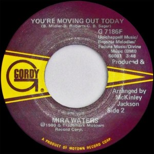 Mira Waters - Rock And Roll Mez / You're Moving Out Today