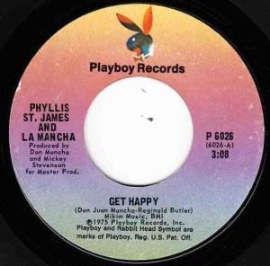 Phyllis St James & La Mancha- Get Happy