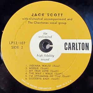 Jack Scott- Jack Scott