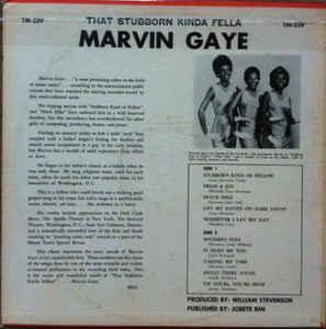 Marvin Gaye – That Stubborn Kinda Fellow
