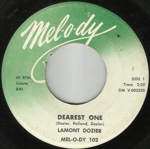 Lamont Dozier – Dearest One / Fortune Teller (Tell Me)