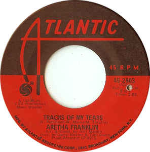 Aretha Franklin- The Weight/ Tracks Of My Tears