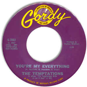 The Temptations – You're My Everything / I've Been Good To You