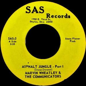 Marvin Wheatley & The Communicators- Asphalt Jungle Part 1/ Asphalt Jungle Part 2