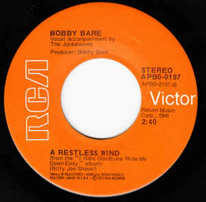Bobby Bare- Daddy What If