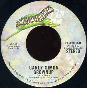 Carly Simon & James Taylor- Mockingbird/ Grownup