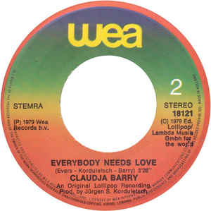 Claudja Barry- You Make Me Feel The Fire/ Everybody Needs Love