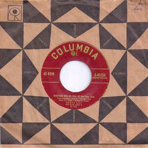 Doris Day- Whatever Will Be (Que Sera, Sera)/ I've Gotta Sing Away These Blues