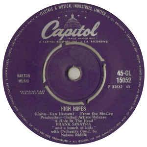 Frank Sinatra- High Hopes