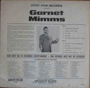 Garnet Mimms- Sensational New Star