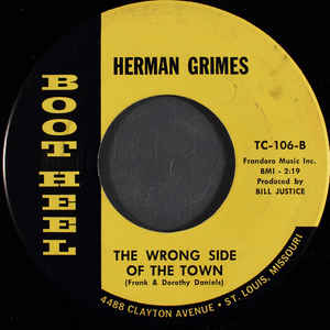 Herman Grimes- You Can't Take Back Kisses