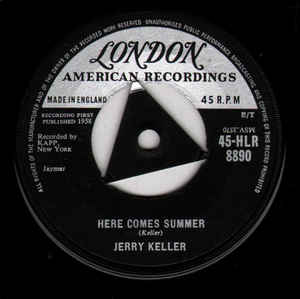Jerry Keller- Here Comes Summer