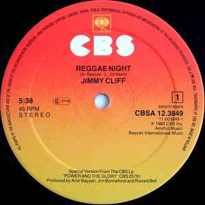 Jimmy Cliff- Reggae Night