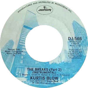 Kurtis Blow- The Breaks