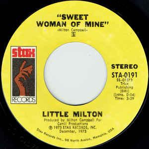 Little Milton- Tin Pan Alley/ Sweet Woman Of Mine