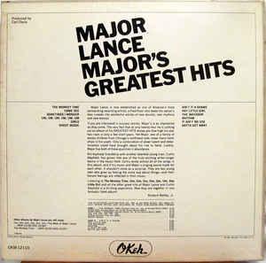 Major Lance- Major's Greatest Hits