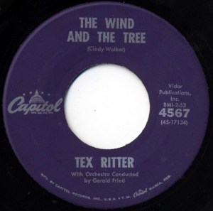 Tex Ritter- I Dreamed Of Hill-Billy Heaven