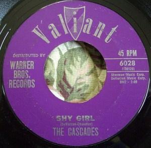 The Cascades- Shy Girl/ The Last Leaf