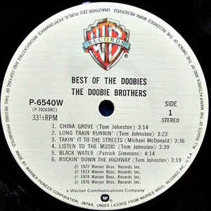 The Doobie Brothers- Best Of The Doobies