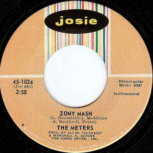 The Meters- A Message From The Meters/ Zony Mash