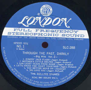 The Rolling Stones- Through The Past, Darkly (Big Hits Vol. 2)